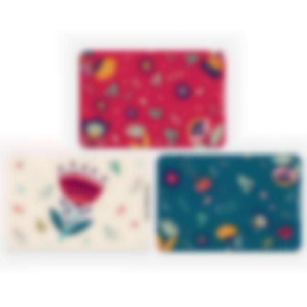 3 cartes magnétiques pour Ludibox - boîte à goûter – Floral