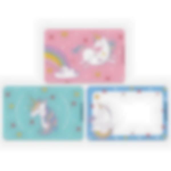 3 cartes magnétiques pour Ludibox - boîte à goûter – Licorne
