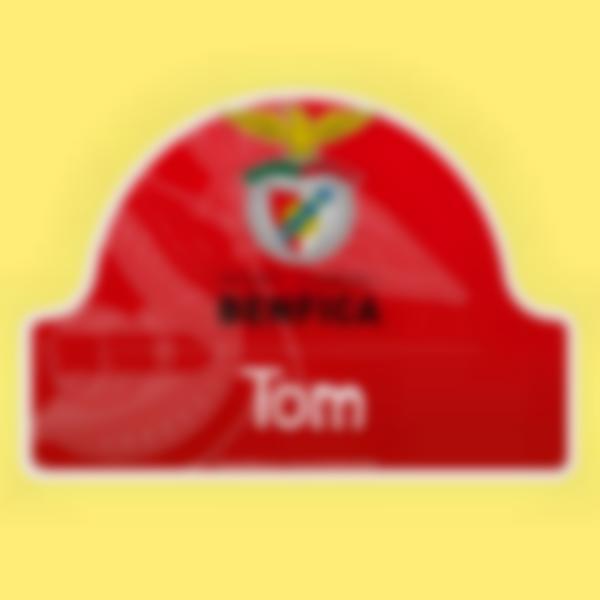 Autocollant panneau de porte - Benfica