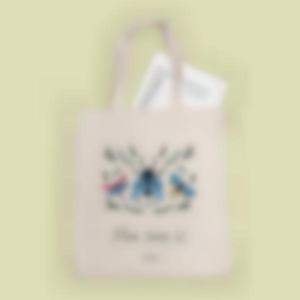 Sac Tote bag - Insectes