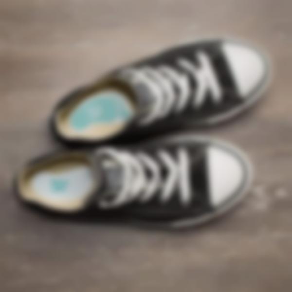 Étiquettes Chaussures en forme de petits pieds