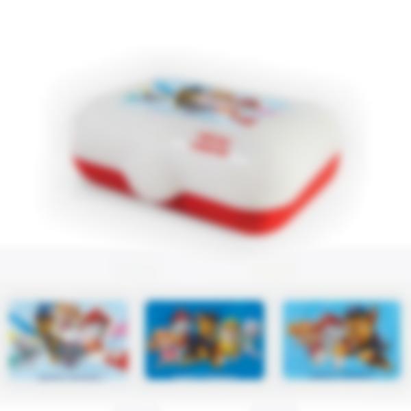 Ludibox - Boîtes à goûter rouge - Pat' Patrouille