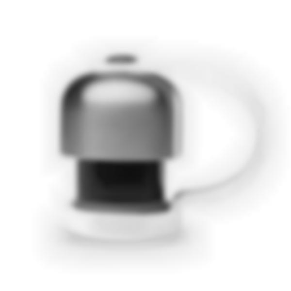 Bouchon attache silicone blanc – Bouteille Qwetch