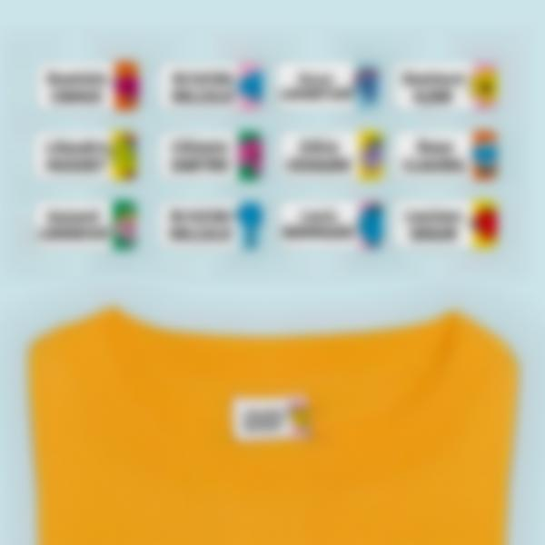 Ludisticks pour Vêtements - Monsieur Madame - Multi-personnalisations