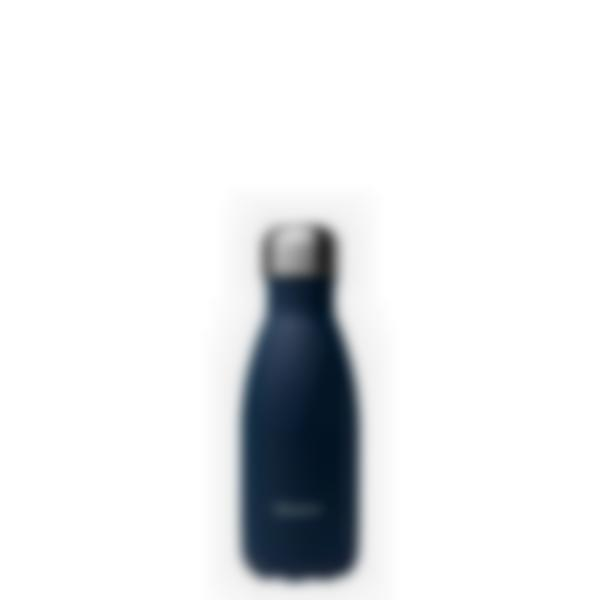 Gourde bouteille isotherme - Granite bleu - 260ml - Qwetch