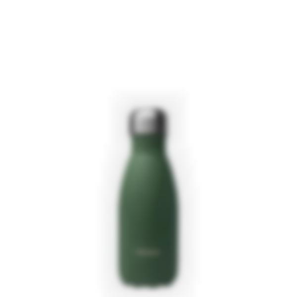 Gourde bouteille isotherme en inox - Qwetch - Granite Kaki 260ml