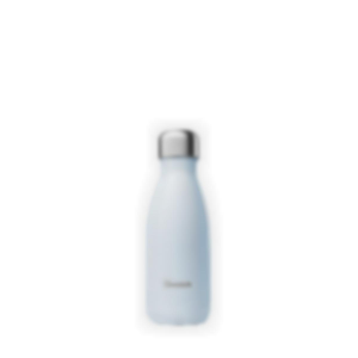 Gourde bouteille isotherme - Pastel Bleu - 260ml - Qwetch