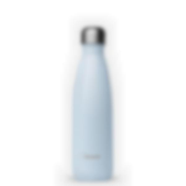 Gourde bouteille isotherme - Pastel Bleu - 500ml - Qwetch