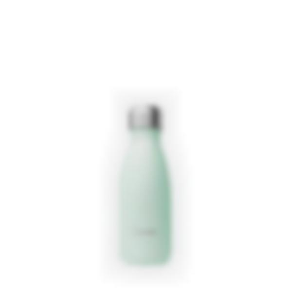 Gourde bouteille isotherme Pastel Vert  - 260ml - Qwtech