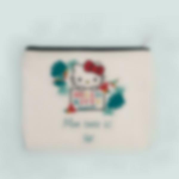 Pochette en tissu personnalisée - Hello Kitty - Tropical