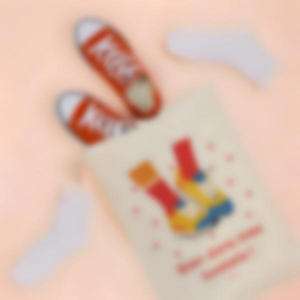 Petit sac de rangement illustré et personnalisé