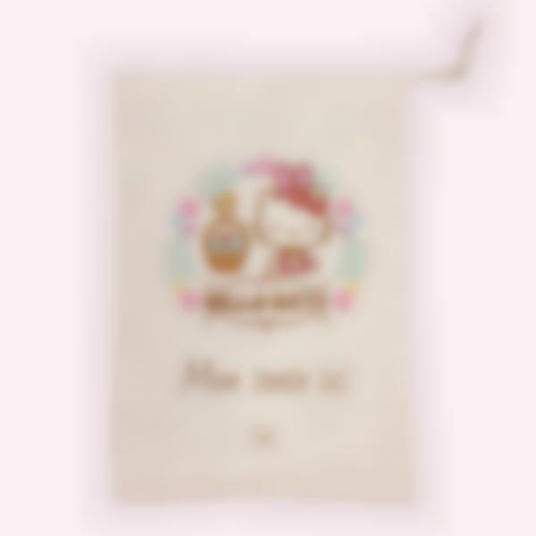 Sac en tissu pour la chasse aux oeufs de Pâques - Hello Kitty