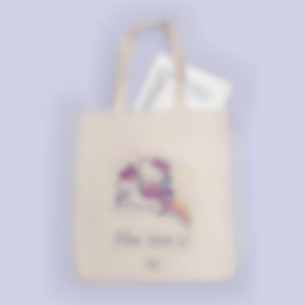 Sacs Tote bag - Hello Kitty Licorne