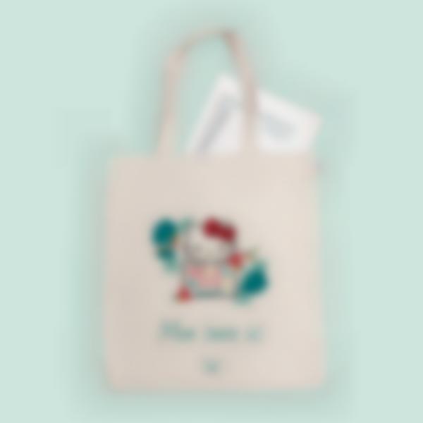 Sac Tote bag - Hello Kitty Tropical
