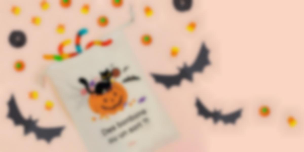 sac à bonbon pour halloween