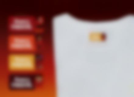 Des étiquettes Indestructibles  avec le nom de votre enfant sur un t-shirt