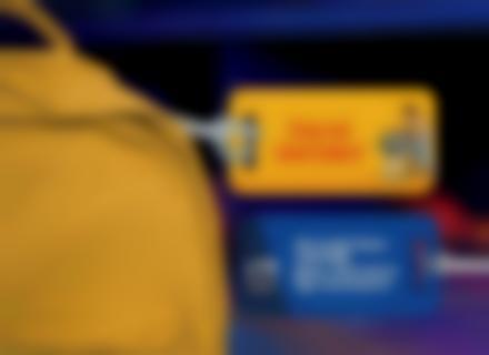 Une étiquette de bagage Toy Story pour identifier sacs et valises