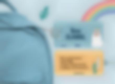 L'étiquette de bagage Alpaga