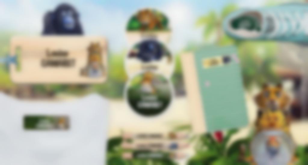 Toutes nos formats d'étiquettes à l'effigie des As de la Jungle