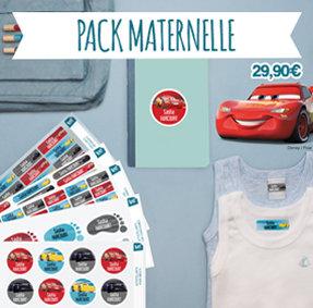 Étiquettes thermocollantes et autocollantes pour marquer les vêtements à la maternelle et identifier souliers, sac, lunchbox, cahiers…