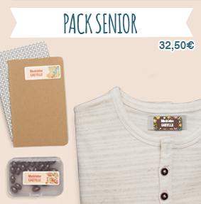 Étiquettes thermocollantes et autocollantes pour marquer le linge en maison de retraite et Ehpad et identifier livre, objets, sacs, boîtes…