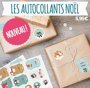 48 étiquettes décoratives pour marquer les cadeaux de Noël